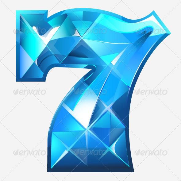 Crystal Seven Vector