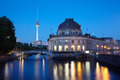 Museum Island on Spree river at night, Berlin - PhotoDune Item for Sale