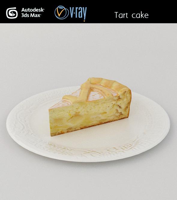3DOcean Cake tart 3027331