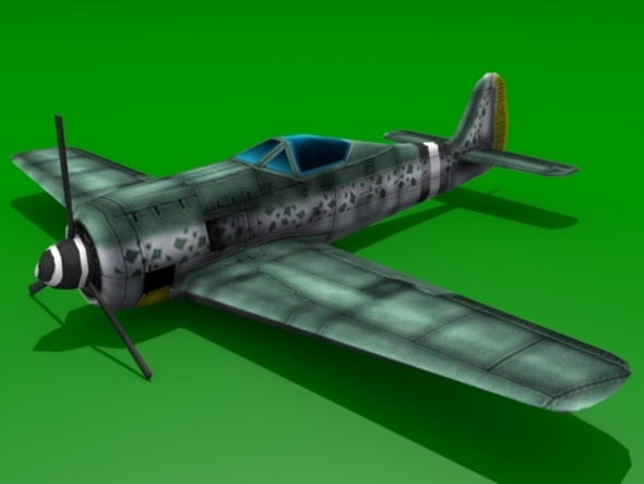 Focke-Wulf Fw 190 - 3DOcean Item for Sale