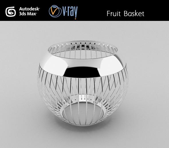 3DOcean Fruit basket 3027435