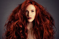 Red Hair. Fashion Girl Portrait - PhotoDune Item for Sale