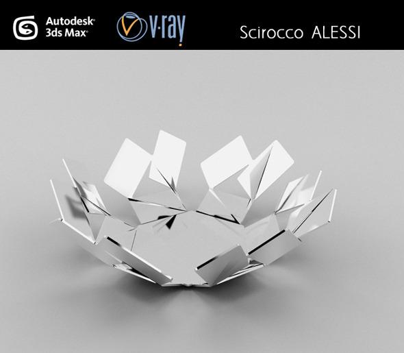 3DOcean Scirocco ALESSI basket 3027486