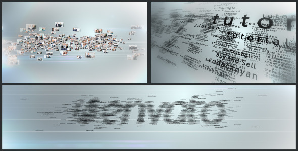 VideoHive Multi Video & Multi Text Logo Formation 3027531