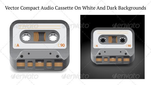 Icon for Audio Cassette