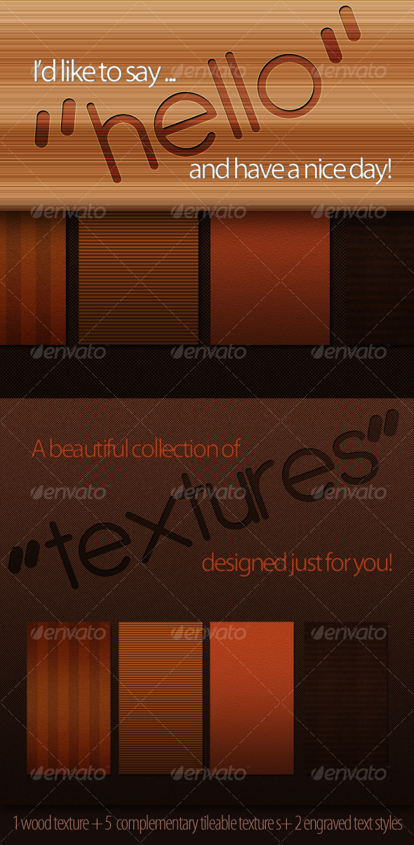 GraphicRiver Complementary Tileable Textures Set 1 105903