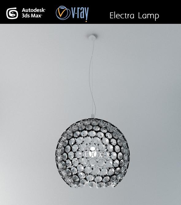 3DOcean Electra ceiling lamp 3027707