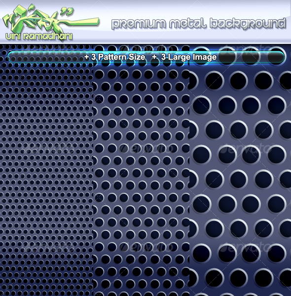 Premium Metal Background - Miscellaneous Backgrounds