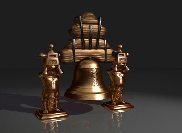 3DOcean Campana de Dolores Dolores's Bell Mexico 107733