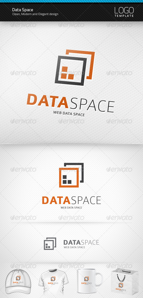 Data Space Logo - Symbols Logo Templates