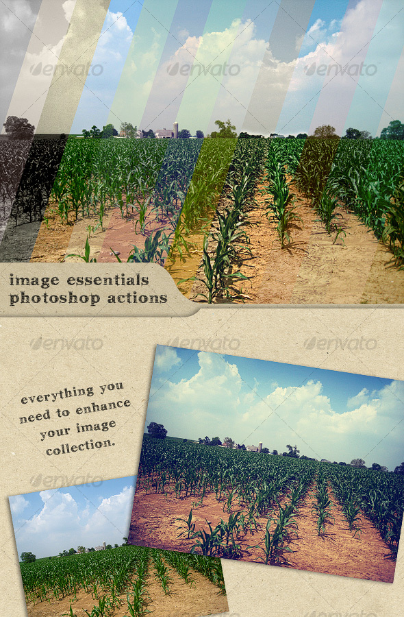 Image Essentials Photoshop Actions