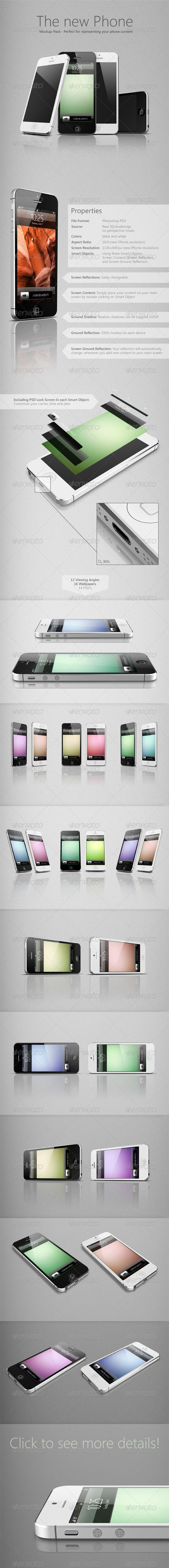 GraphicRiver The New Phone 3014004