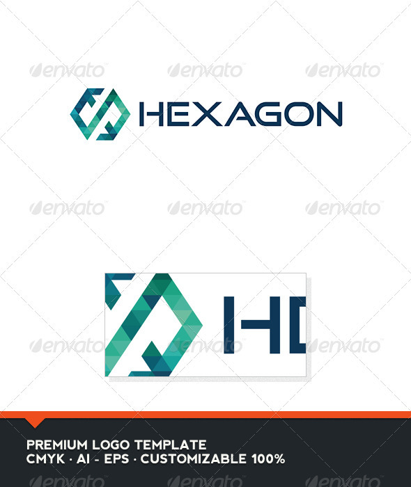 Hexagon Logo Template - Abstract Logo Templates