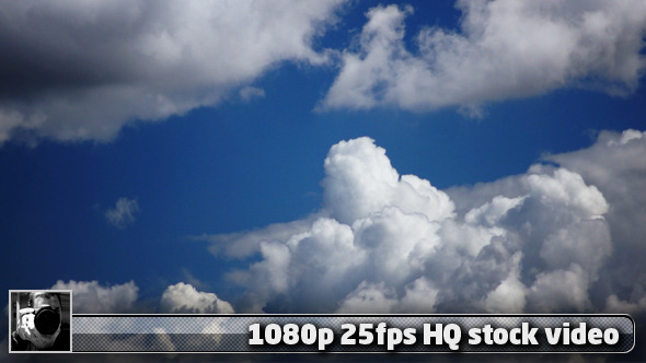Real Clouds Time Lapse 8 VideoHive 3029549 Stock Footage Time Lapse