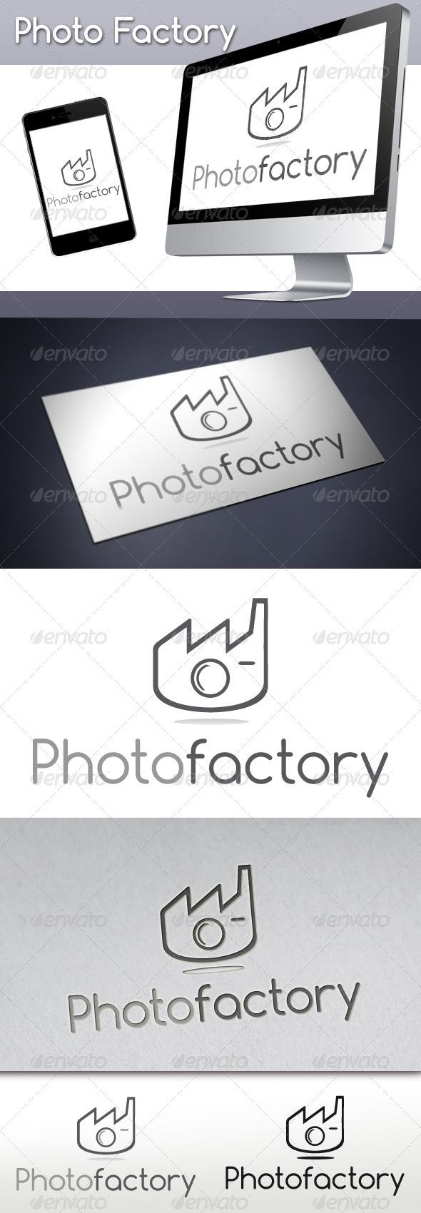 Photo Factory Logo - Objects Logo Templates