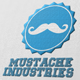 Mustache Industries Logo - GraphicRiver Item for Sale