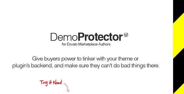 CodeCanyon Demo Protector PHP Class 3030910