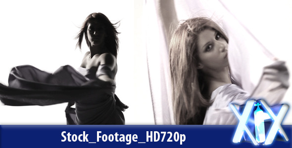 VideoHive Female Silk Waves 3019621