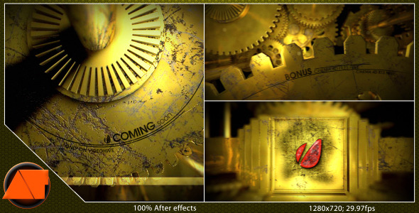 After Effects Project - VideoHive Mehanick 3031122