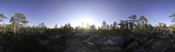 3DOcean Nature HDRI I Midsummer Rock 3031155