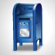 Vector Blue Mailbox Icon