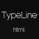 TypeLine – Minimal HTML Theme  Free Download