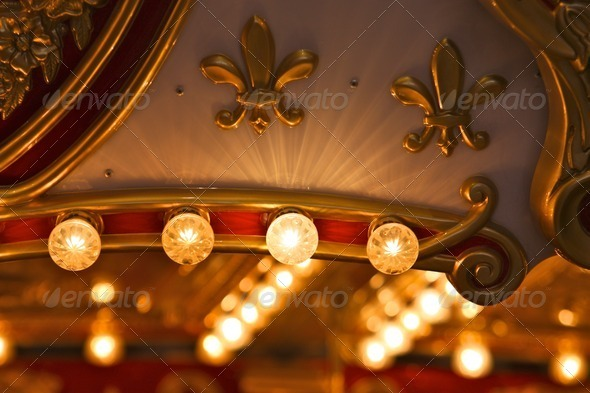 Carousel Lights - Stock Photo - Images