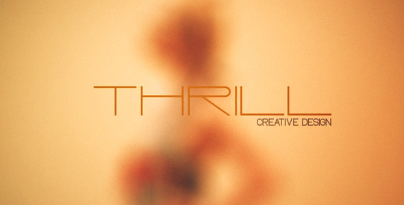 After Effects Project - VideoHive Thrill 3032705