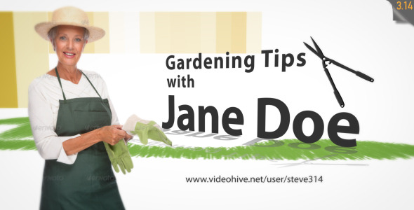 Gardening landscaping intro tv show by steve314 videohive Gardening tv shows online