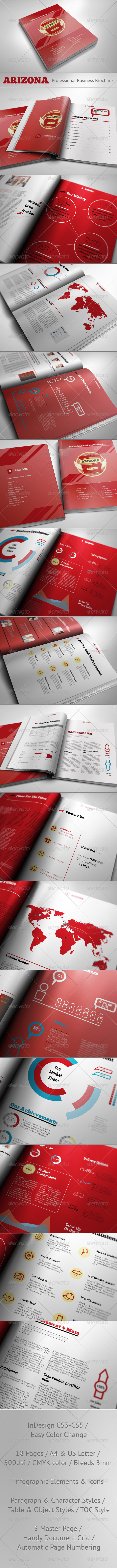 Arizona - Professional Business Brochure - Corporate Brochures