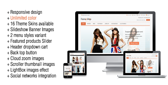 Fancy - Clothing Magento Theme