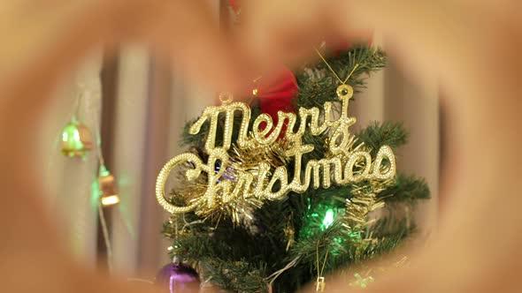 Symbol Heart Christmas