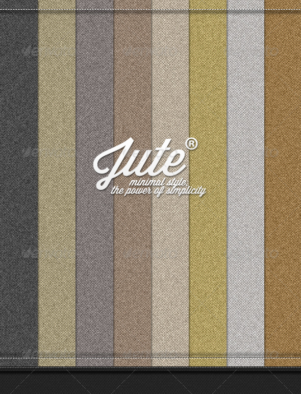GraphicRiver Jute Patterns Pack 3033974