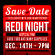 Redi Night: Invite or Flyer Template - GraphicRiver Item for Sale