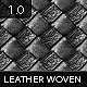 Tileable Leather: Woven Texture 3.0 - GraphicRiver Item for Sale