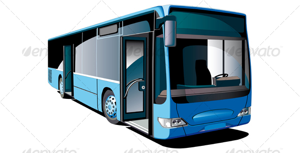 GraphicRiver Modern Bus 107926