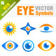 20 Eye Vector Icons - GraphicRiver Item for Sale