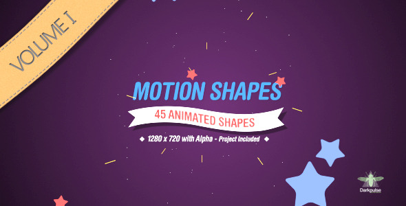 VideoHive Motion Shapes Vol 1 1044751