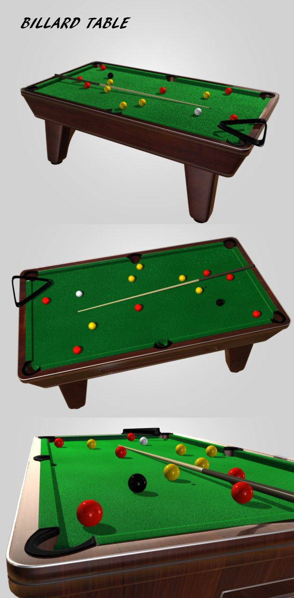3DOcean Billard table 107938