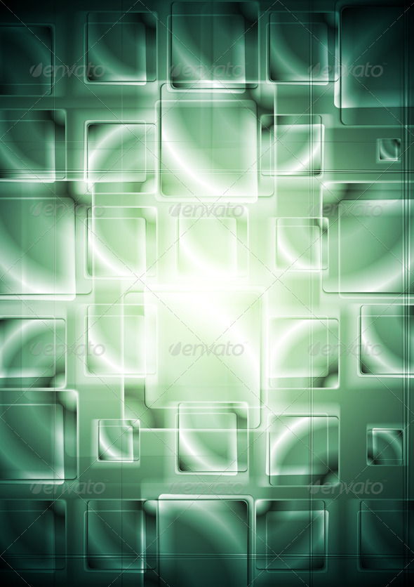Hi-tech elegant background with squares. Vector - Backgrounds Decorative