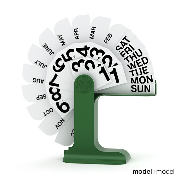 3DOcean Danese Milano Timor perpetual calendar 3D Models -  Deco Objects 107948