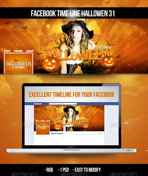 GraphicRiver Facebook Timeline Halloween 31 3036608