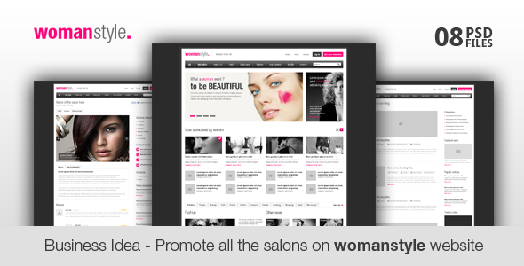 WomanStyle - Business Idea for You - Business Corporate