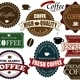Set coffee labels and elements - GraphicRiver Item for Sale