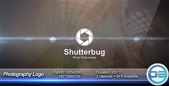 After Effects Project - VideoHive Photography Logo 3037074
