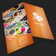 Modern Folding Graphic Designer Business Card - GraphicRiver Item for Sale