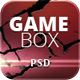 Gamebox - Xtreme Gaming PSD Template - ThemeForest Item for Sale