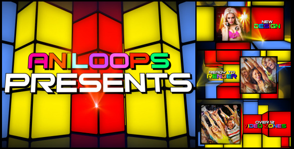 After Effects Project - VideoHive Dance Party 02 3038077