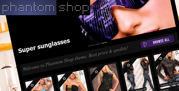 ThemeForest Phantom Shop 381434