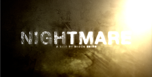 After Effects Project - VideoHive Nightmare HD Trailer 108037